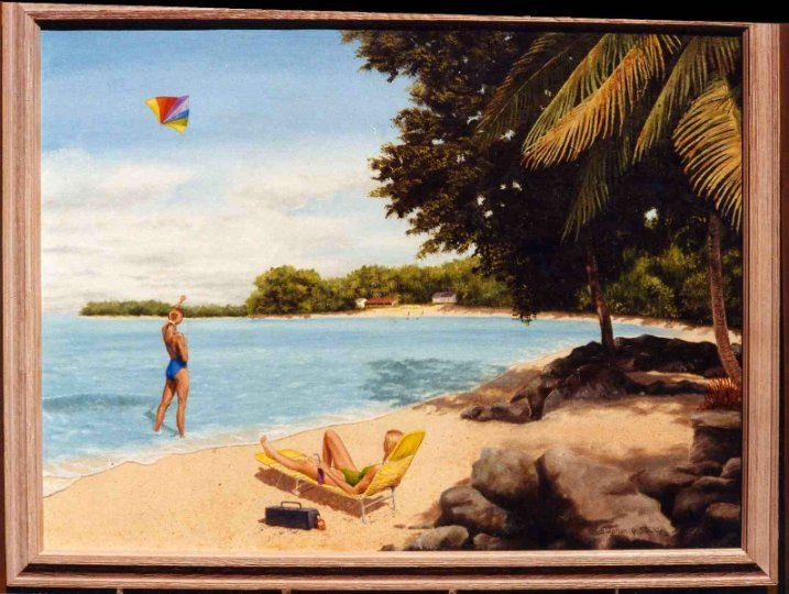 """""""A Day on the Beach"""" SOLD"""
