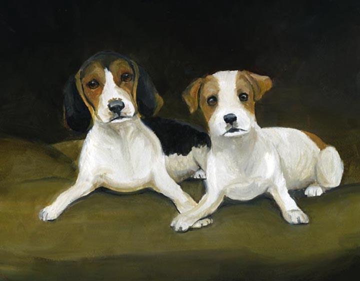 """Beagle & Jack Russell"""