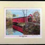 """Chapel Bridge"" - 11x14"""