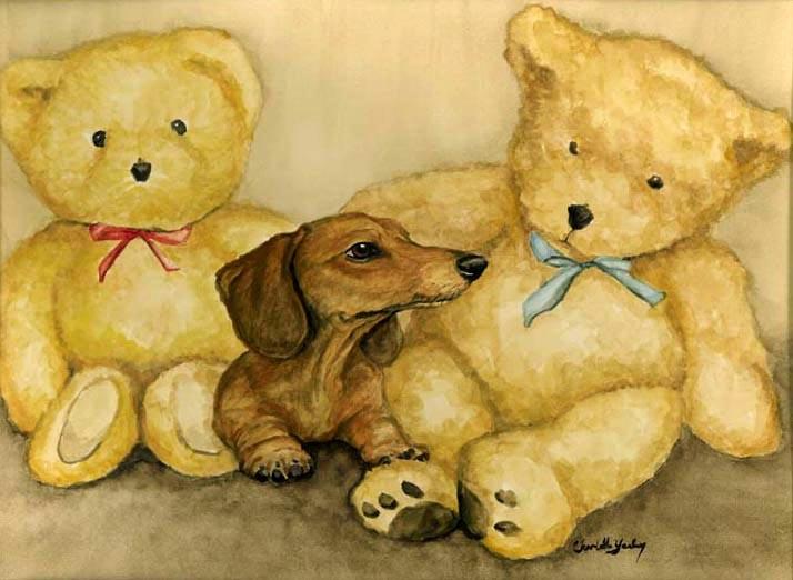 """""""Dachshund & Bears"""""""