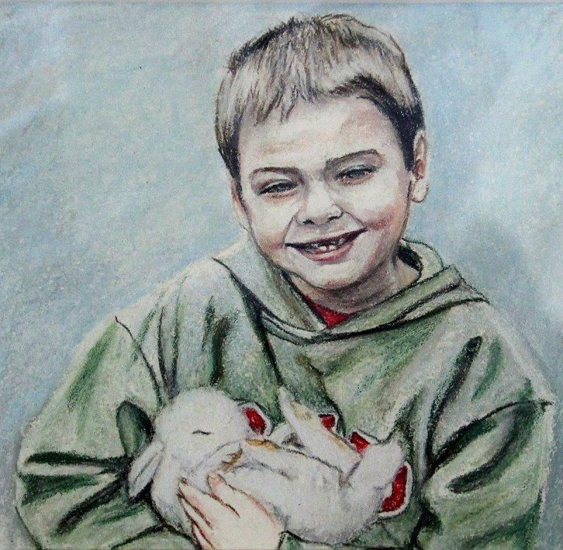 """David & the Bunny"""