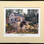 """Garvine Mill"" - 11x14"""