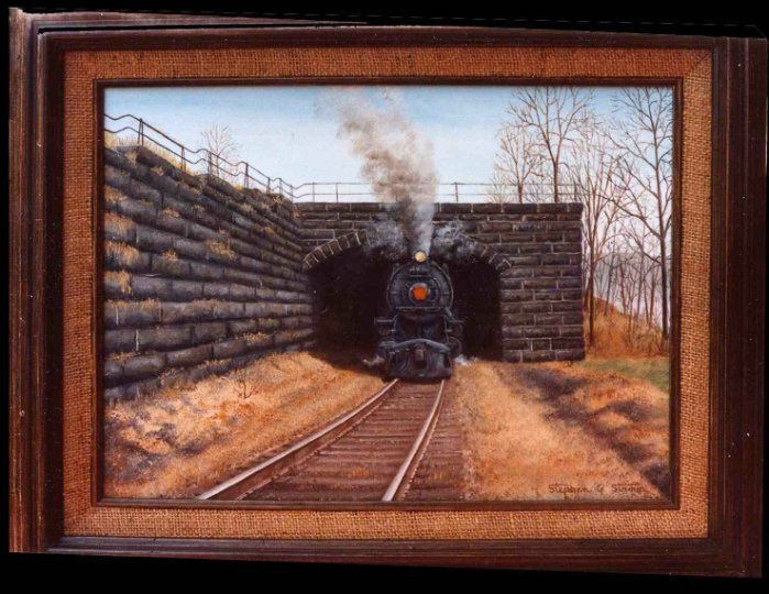 """""""Heading for Enola"""" SOLD"""