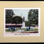 """""""Monument Oval on Center Square"""" - 11x14"""""""