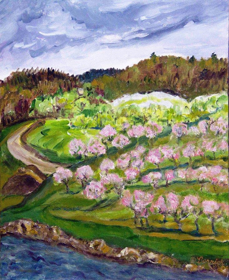 """""""El Vista Orchard with Pond"""""""
