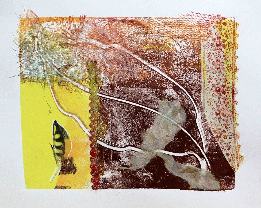 """""""Special Feather"""", Print"""