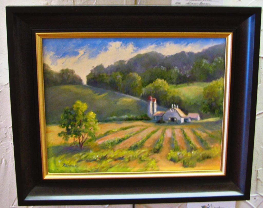"""""""Early Light, Gettysburg Farm"""""""