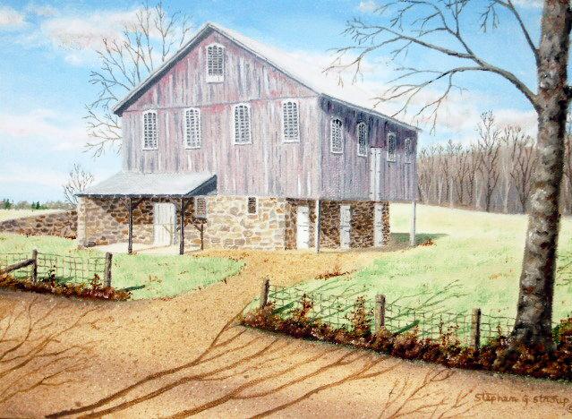 """""""Swift Run Road Barn"""" SOLD"""