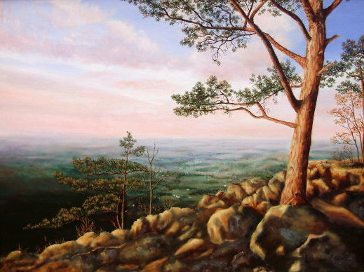 """""""View of Shenandoah Valley"""" - 23x29"""""""