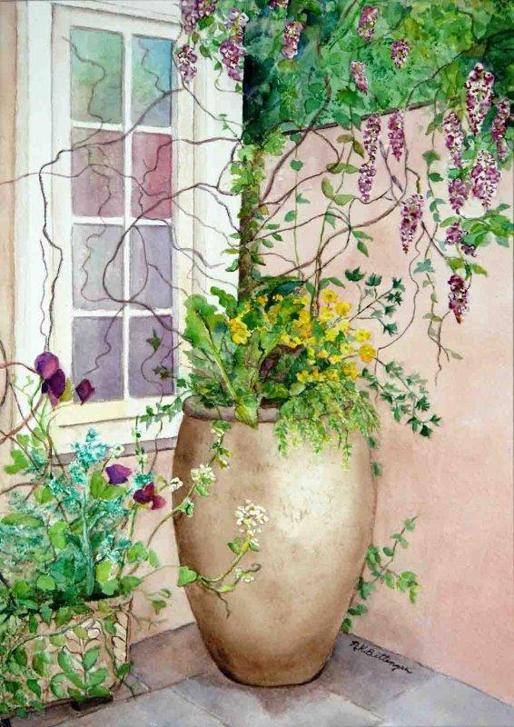 """A Corner of Spring"""