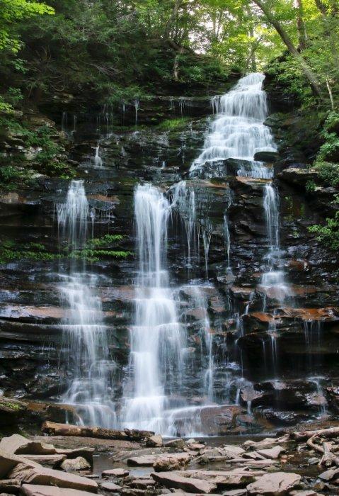 """""""Ganoga Falls, PA"""""""