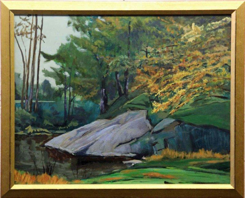 """""""Graves Mountain Pond"""""""