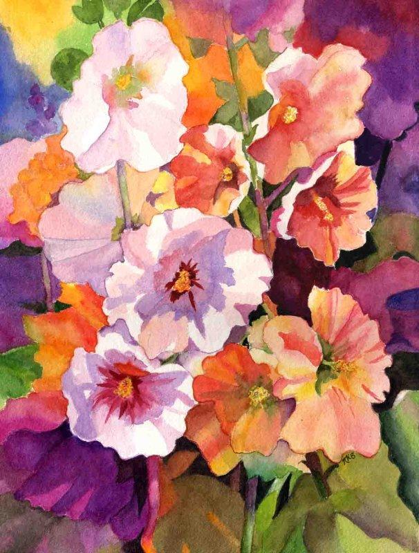 """Kaleidoscope of Flowers"""