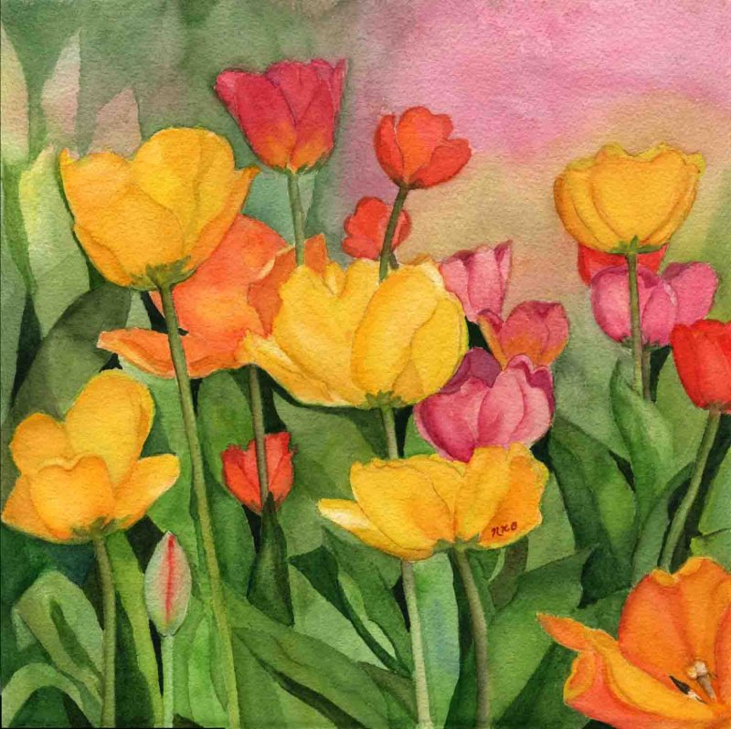 """Laura's Tulips"""
