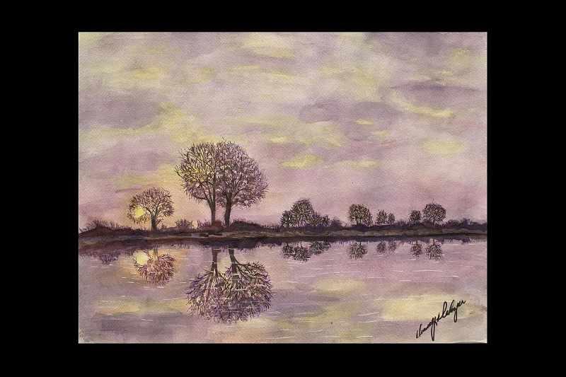 """""""Purple Shoreline"""""""