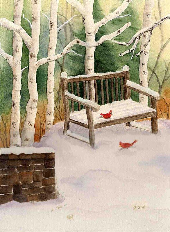 """Snow Scene"""