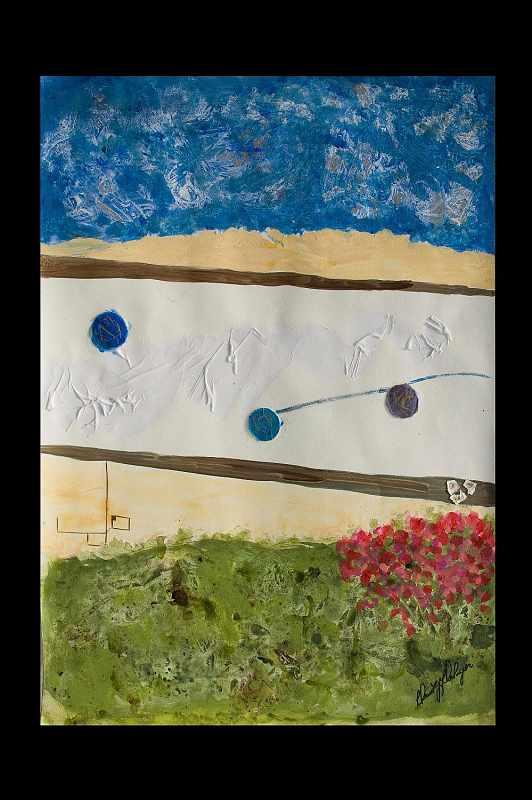 """Spring Blue Moon Rising II"""