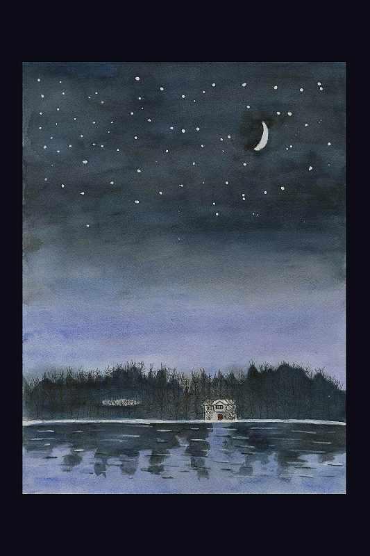 """Summer Night Lakeside"""