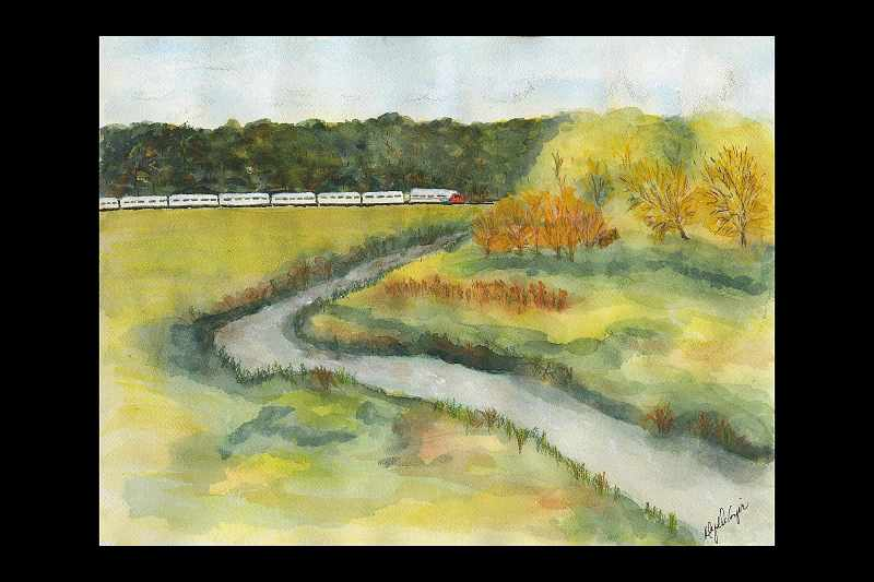 """""""The Ontario North Land Railway in Fall"""""""