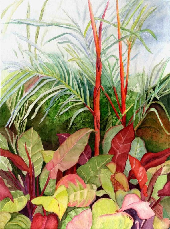 """""""Tropical Garden"""""""