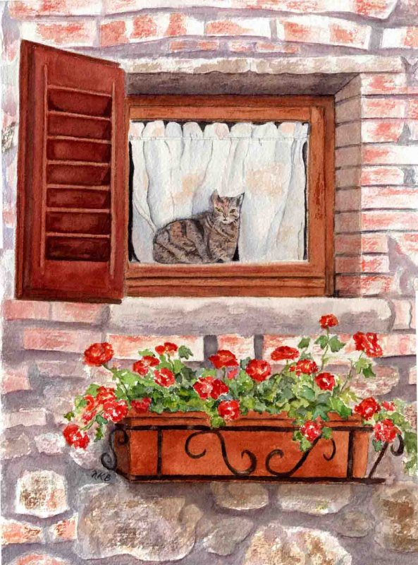 """""""Tuscany Cat"""""""