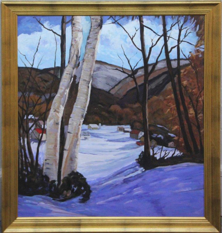 """""""Winter Birches"""""""