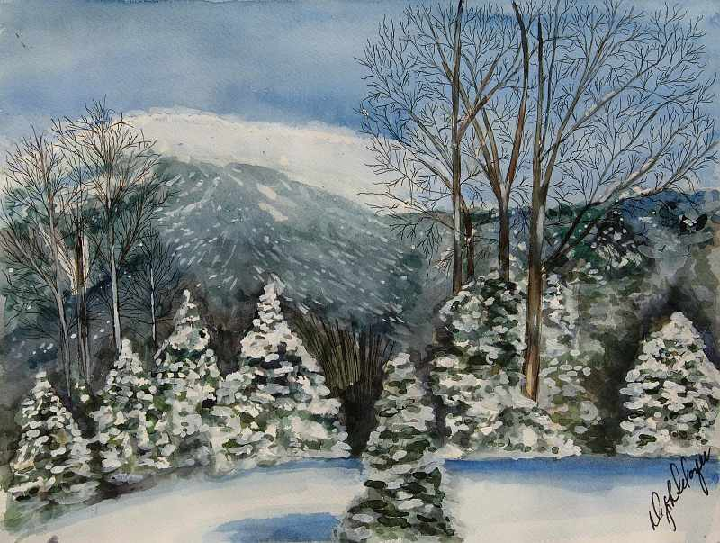 """""""Winter Mountains of New England"""""""