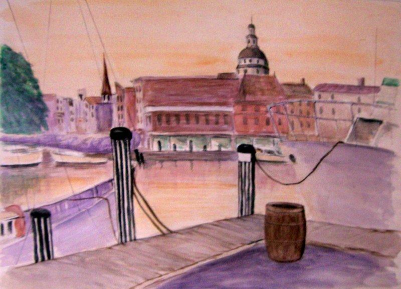"""""""Annapolis Harbor"""""""