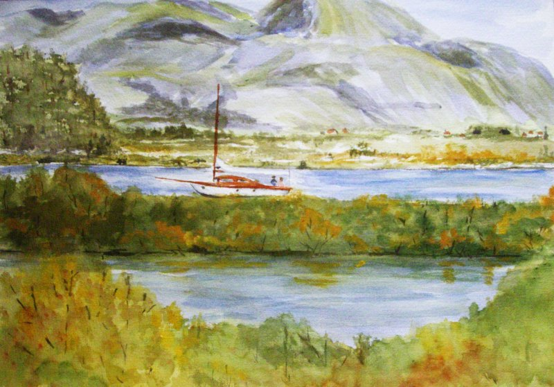 """Caledonia Canal Scotland"""