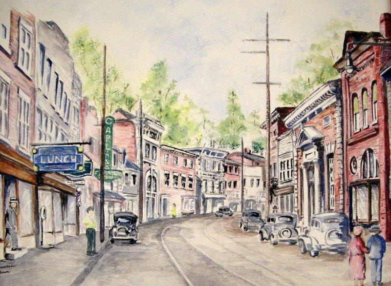 """Ellicott City, MD c. 1930's"""