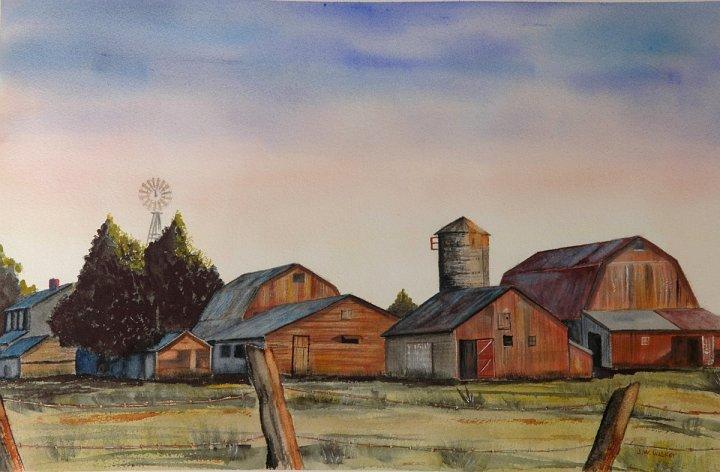 """""""Farm At Sunrise"""""""