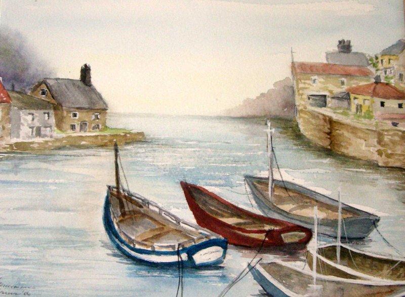 """Fishing Village"""