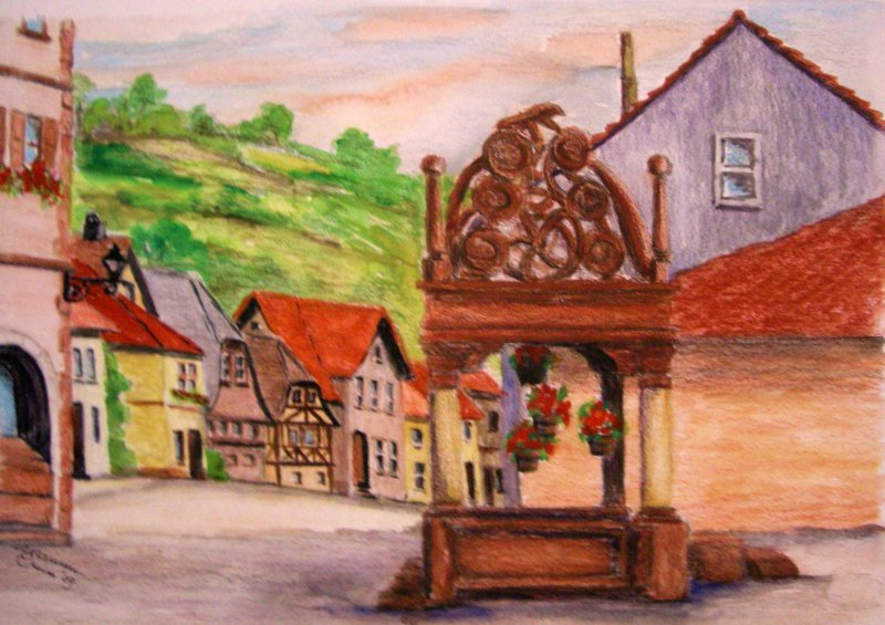 """French Alsaac Village"""