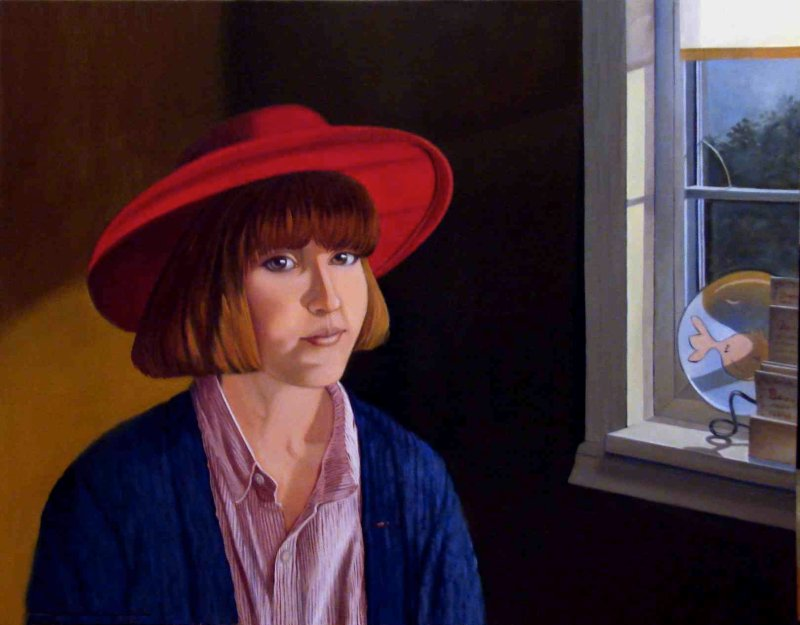 """""""Girl in Red Hat"""""""