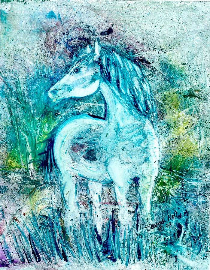 """Horse Sense"" 11x14"" Print $55"