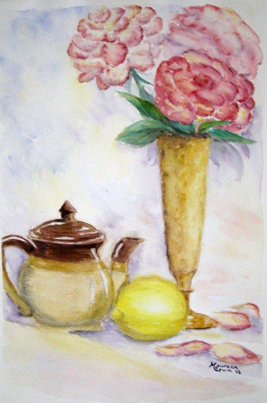 """""""Lemon Tea and Roses"""""""