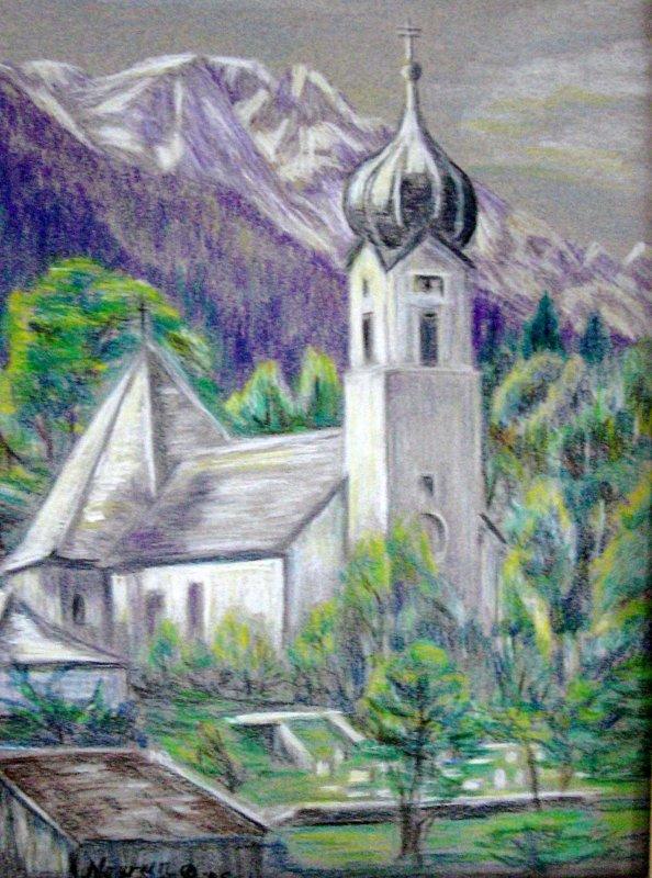 """""""Onion Dome Church Bavaria"""""""