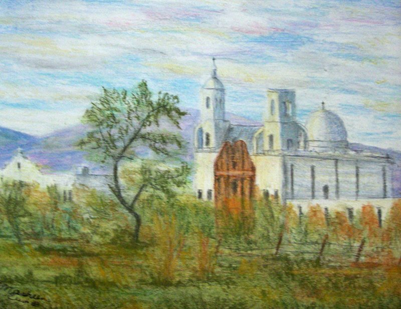 """San Xavier Mission Arizona"""