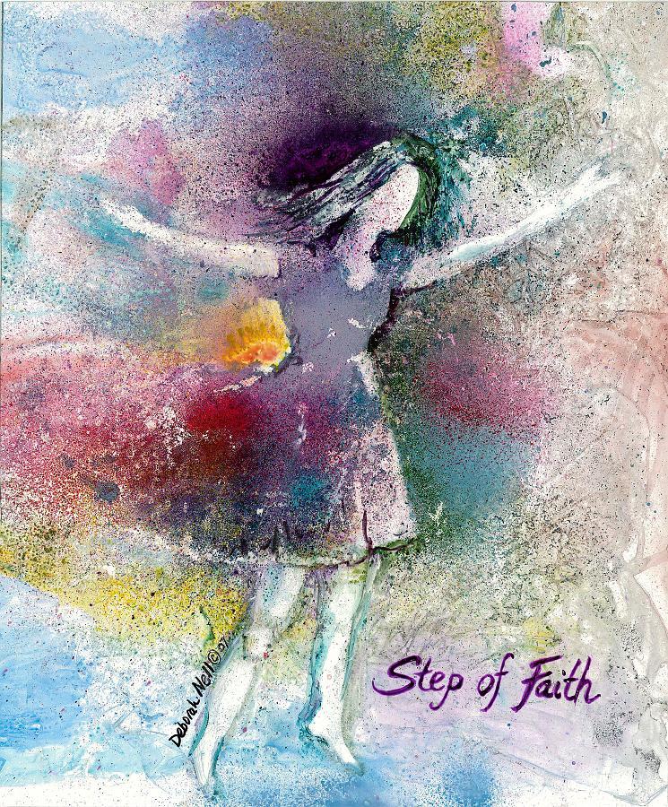 """""""Step of Faith"""" 17x20"""" Print $60"""