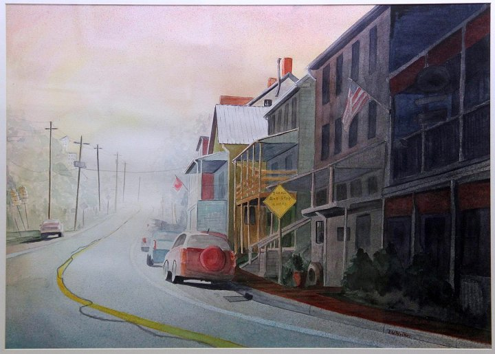 """Sunrise, Railroad, PA"""