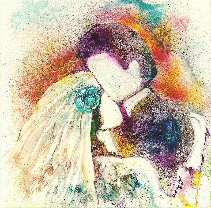 """Wedding Day"" 24x30"" Framed Original $475, Print $85"