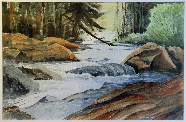 """Wilderness River 1"""