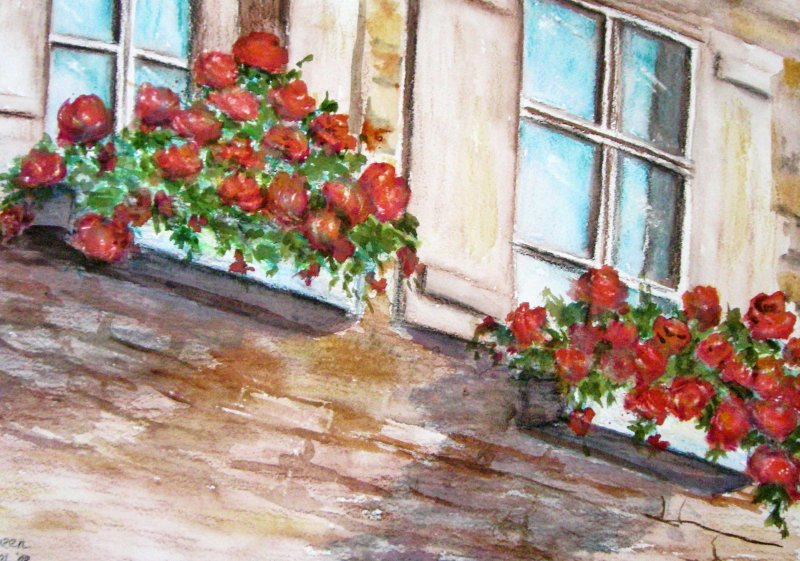 """""""Window Gardens, Germany"""""""
