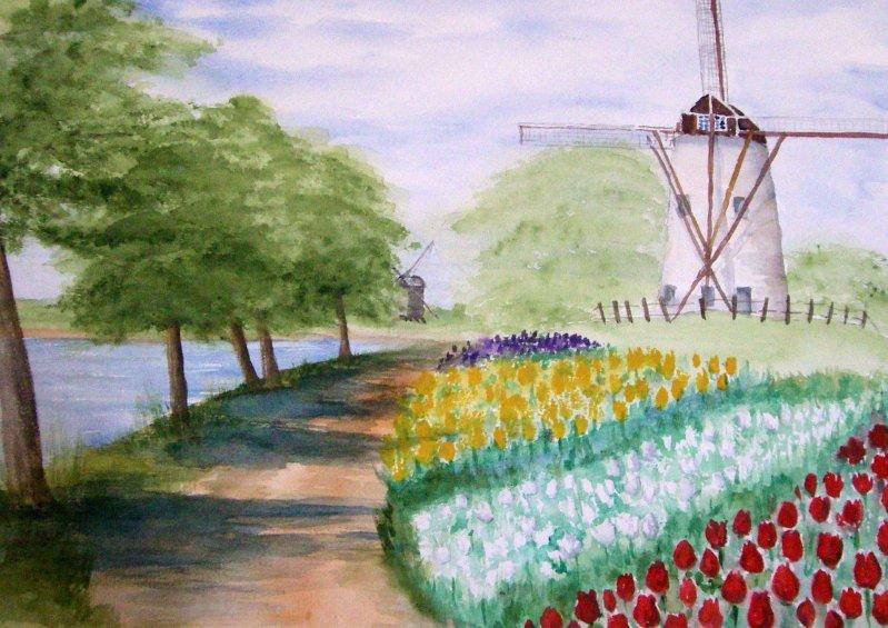 """Windmill Netherlands"""