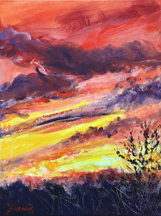 """""""Farewell"""", Acrylic/Canvas, 18x24"""