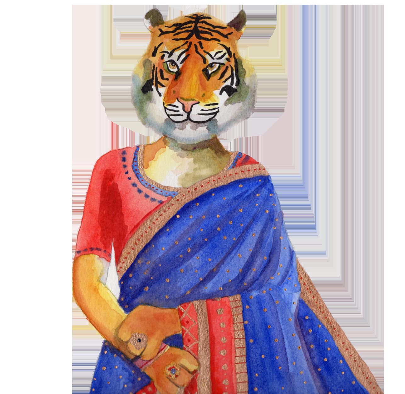 Tiger Sari