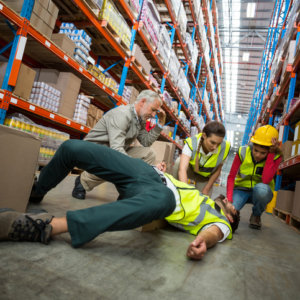 A man who will need the help of a workers comp lawyer in Davenport, IA