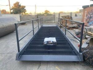 Stationary Yard Ramp for Installation