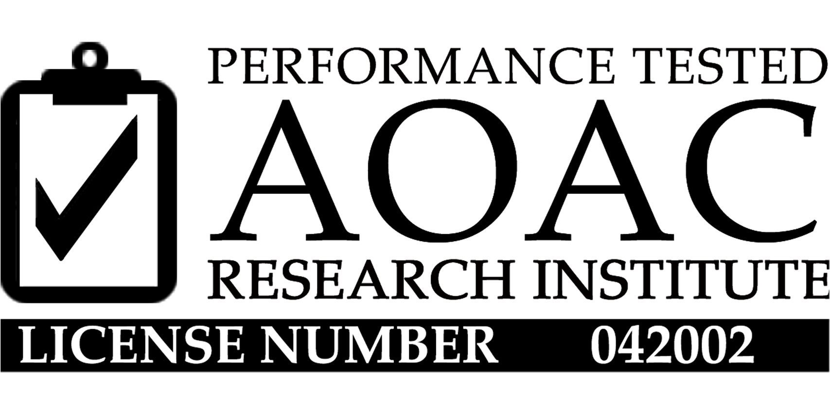 Performance Tested AOAC Research Institute, License Number 042002, Salmonella Assay