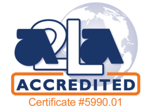 A2LA certificate number 5990.01